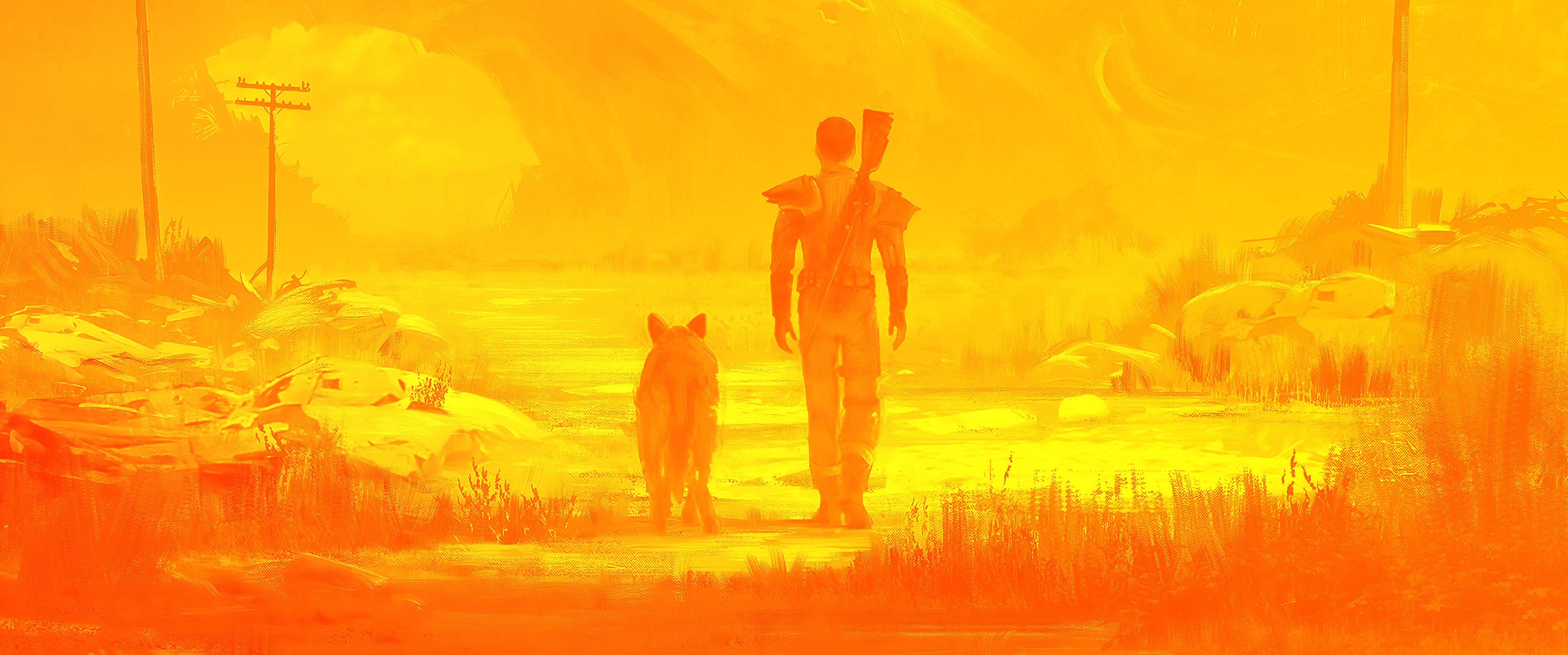 Artwork van Fallout 4, één van de franchises die sinds kort in het bezit is van Xbox.